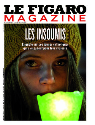 Couverture Figaro Magazine 18-19 avril 2014