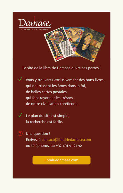 Librairie Damase ouvre son site