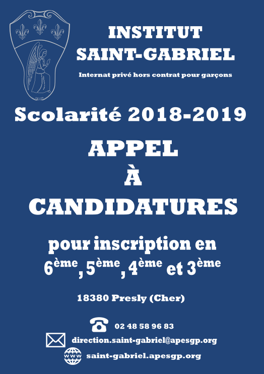 Flyer candidature final