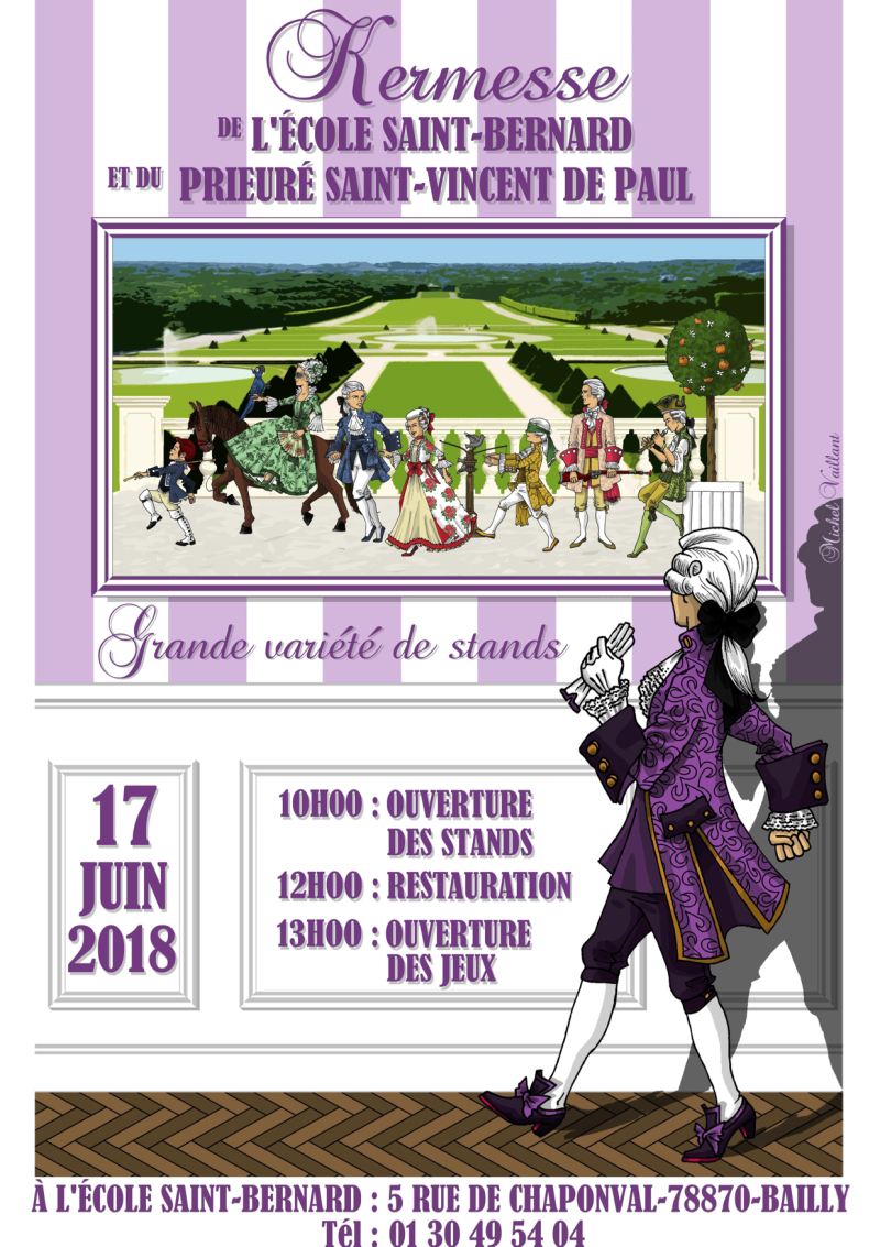 Affiche Kermesse Bailly